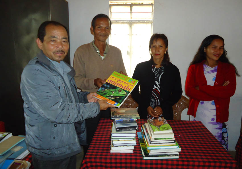 Distribution of Books / CD's -2