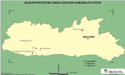 protected areas in Meghalaya