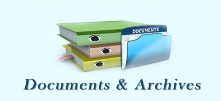 Documents & Archives