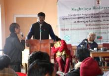 Shri I.A.G.Mathuran, IFS, DFO East Khasi Hills