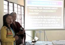 Dr Suchitra Ghosh briefing about PBR preparation